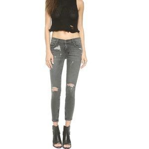Ksubi Spray On Denim Jeans in Carbon Black